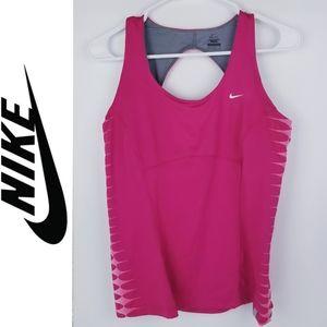 Nike Racerback Dri-Fit Tank Shelf Bra NWOT!